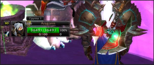 скриншот z-perl-unitframes