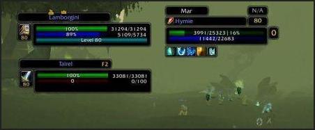 perl classic unit frames скриншот