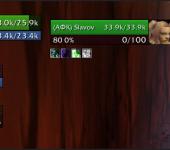 Скриншот Shadowed Unit Frames